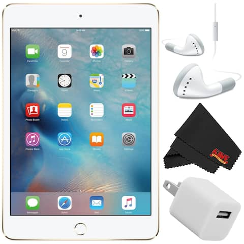 "Apple iPad mini 4 128GB 7.9"" Retina Display (Wi-Fi Only) Bundle"