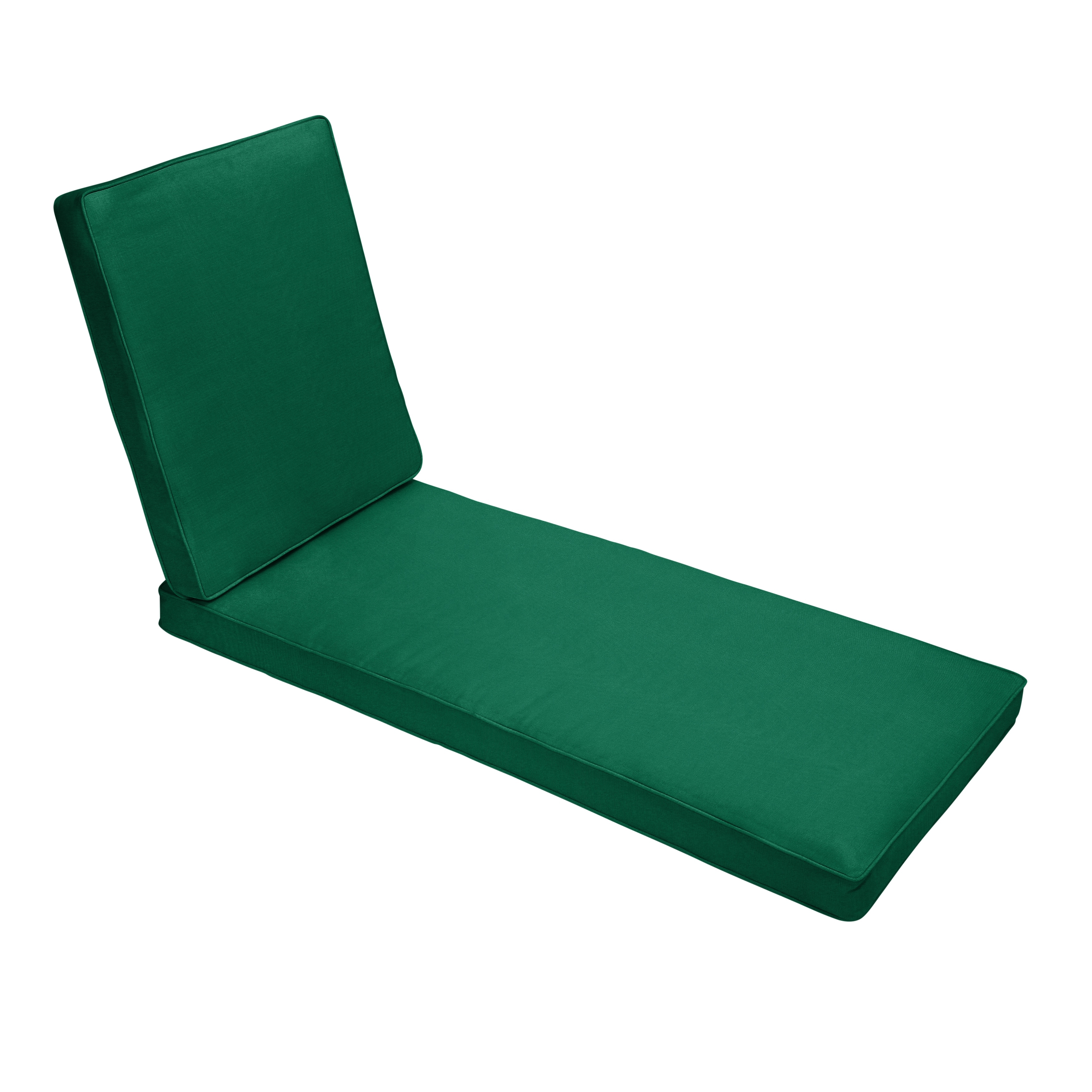 Indoor Outdoor 25 Wide Chaise Lounge Cushion With Sunbrella Fabric Solid Bright
