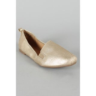 Bamboo Women Rosalba-01X Flats-Shoes - silver pu