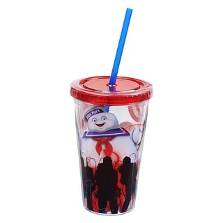 Ghostbusters Stay Puft 18oz Carnival Cup with Molded Ice Cubes