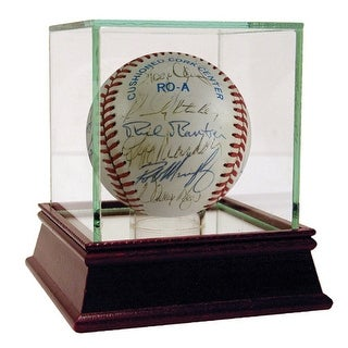1990 Red Sox Team 27 sig Baseball PSADNA