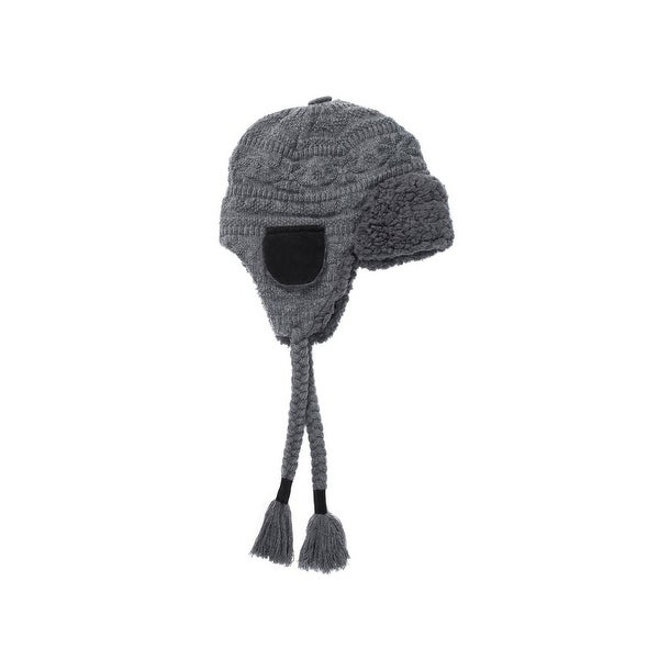 a7bb3b0ed33a9 Shop Muk Luks Hat Mens Trapper Over Ear Faux Fur One Size - Free Shipping  On Orders Over  45 - Overstock - 18216104