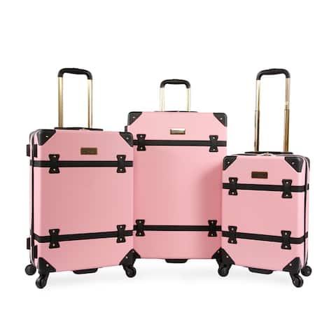 Juicy Couture Kitra 3-pc Hardside Luggage Set