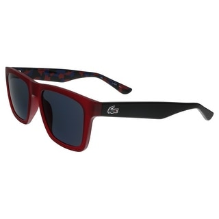Lacoste L797/S 615 Matte Red Rectangle sunglasses Sunglasses