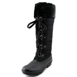 Dirty Laundry Blackfrost Round Toe Canvas Winter Boot