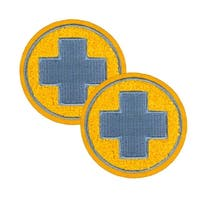 Team Fortress 2 Medic Patches: Set of 2, Team Blu