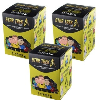 Star Trek TOS Blind Bag Vinyl Figure, Lot of 3 - multi