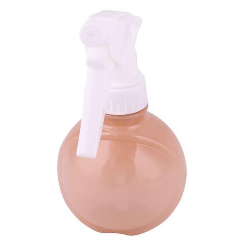 Dormitory Plastic Watering Flower Plant Tree Trigger Spray Bottle Brown 180ml
