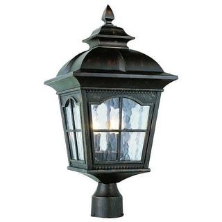 "Trans Globe Lighting 5422 Chesapeake 22.5"" Height 3 Light Outdoor Post Light"