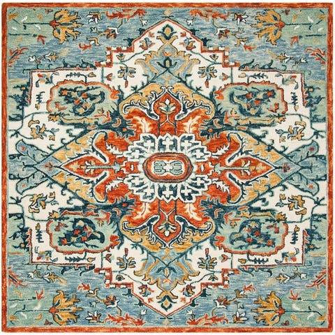 Safavieh Handmade Aspen Alida Boho Medallion Wool Rug