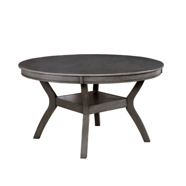 Furniture Of America Sine Transitional 54 Inch Round Dining Table Overstock 19998656