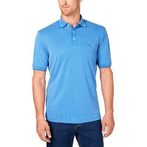Tommy Bahama Mens Big & Tall Casual Shirt Modal Checkered