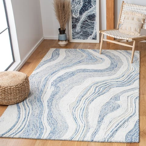 Safavieh Handmade Fifth Avenue Thiet Modern Abstract Wool Rug