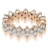1.50 cttw. 14K Rose Gold Round Diamond Eternity Ring