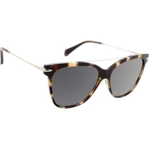 b8eeebae65 Peppers Bali Sunglasses Shiny Tortoise Brown Polarized Silver Flash Mirror  - US One Size