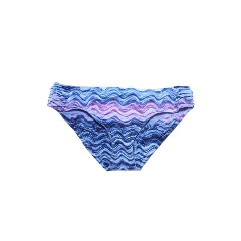 Becca Plus Size Blue Pink Cosmic Hipster Bikini Bottom 20-22 2X