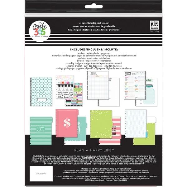Happy Planner Undated Big Planner Extension Pack-Budget