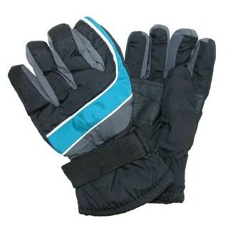 CTM® Boy's Waterproof Ski Gloves