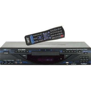 Multi-Format Digital Key Control DVD/DivX Karaoke Player w/USB, SD, & HDMI