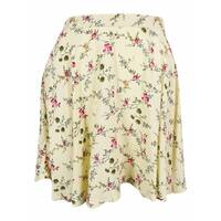 Denim & Supply by Ralph Lauren Women's Floral Print Mini Skirt - Multi