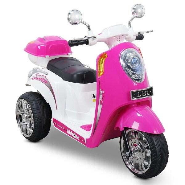 Shop Kidzone Kids Ride-on Scooter Toy Bike 3-wheeler