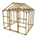 8X8 E-Z Frame Standard Greenhouse or Storage Shed Structures Kit (lumber not included) - Thumbnail 1