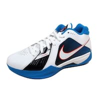 Nike Men's Zoom KD III 3 White/White-Team Orange-Photo Blue Kevin Durant OKC Home 417279-107 Size 7.5