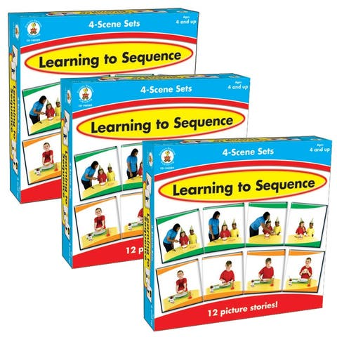 (3 Ea) Learning To Sequence 4 Scene