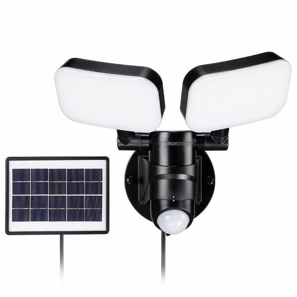 2-Light LED Solar Motion Sensor Security Light. Opens flyout.