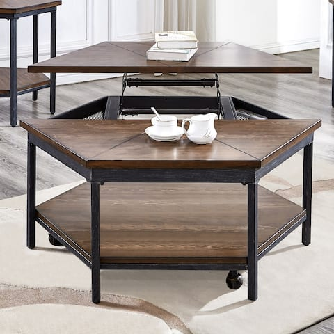 Upton Hexagon Lift Top Coffee Table by Greyson Living