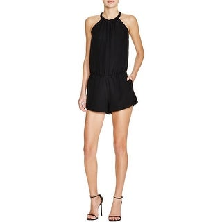 Joie Womens Romper Sleeveless Hidden Zipper - m