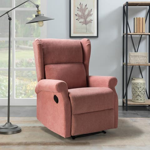 Victoria recliner chair with wingback