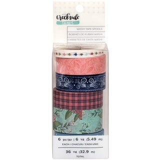 One Canoe Two Creekside Washi Tape 36 Yards-6 Designs/6 Yards Each