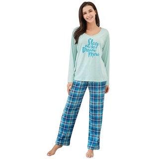 Richie House Women's Two Piece Sleepwear Set