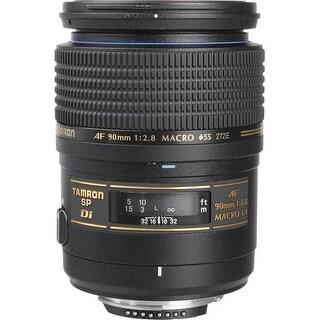 Tamron 90mm f/2.8 SP AF Di Macro Lens for Nikon AF (International Model) - Black