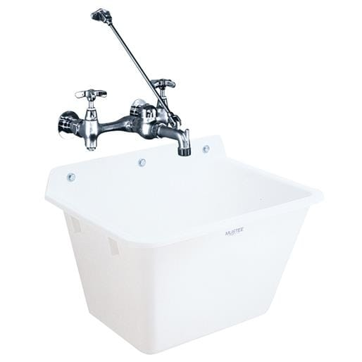 Shop Mustee, E. L. Wall Mount Sink 16K Unit: EACH   Free Shipping Today    Overstock   17495447