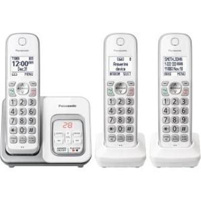 Panasonic Consumer - Kx-Tgd533w - Three Handset Telephone