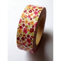 Love My Tapes Washi Tape 15mmx10m-Mod Flower Print