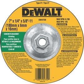 DeWalt 7X1/4X5/8-11 Msnry Wheel