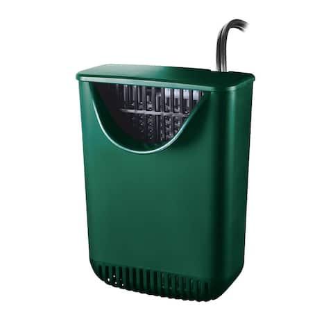 """Zilla Aquatic Reptile Internal Filter Size 20 Green - 5"""" x 4"""" x 8"""""""