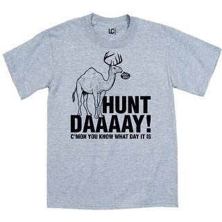 Hunt Daaaay! You Know What Day It Is Funny Wednesday - Mens T-Shirt