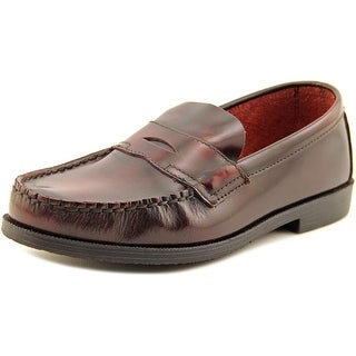 School Issue Simon Moc Toe Leather Loafer