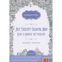 Living In Color Art Therapy Coloring Book-Destinations
