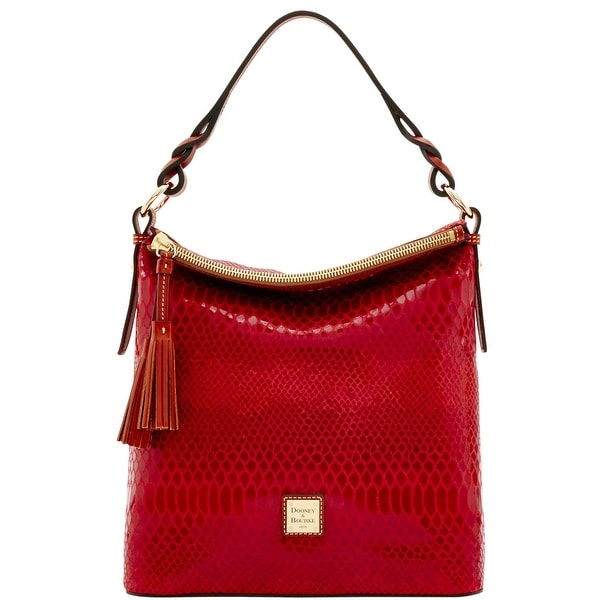 Dooney & Bourke Snake Small Sloan (Introduced by Dooney & Bourke at $288 in Nov 2016) - Red