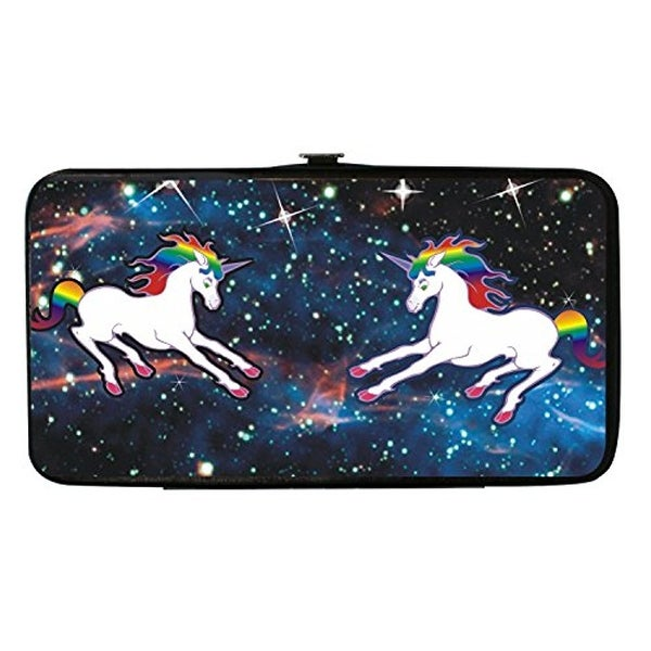 Buckle Down Kids' Unicorn Universe Hinged Card Case Wallet