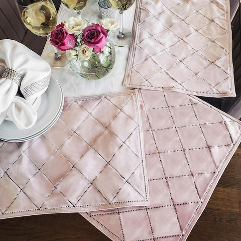 Sparkles Home Rhinestone X Placemat