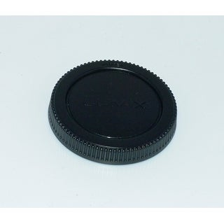 OEM Panasonic Rear Lens Cap Originally Shipped With: HFT012, H-FT012, HFS45150, H-FS45150, HFS14140, H-FS14140