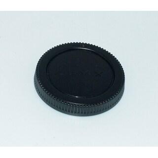 OEM Panasonic Rear Lens Cap Originally Shipped With: HPS14042, H-PS14042, HH014, H-H014