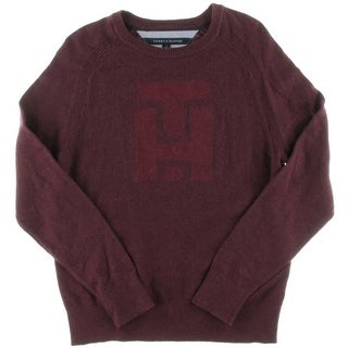 Tommy Hilfiger Mens Sweater Monogram Crew Neck