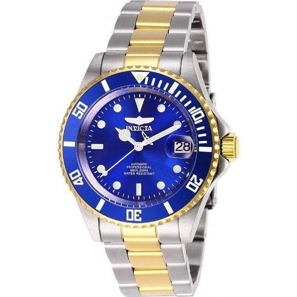 Invicta Men's 28662 'Pro Diver' Invicta Connection Automatic Gold-Tone and Silver Stainless Steel Watch - Multi. Opens flyout.